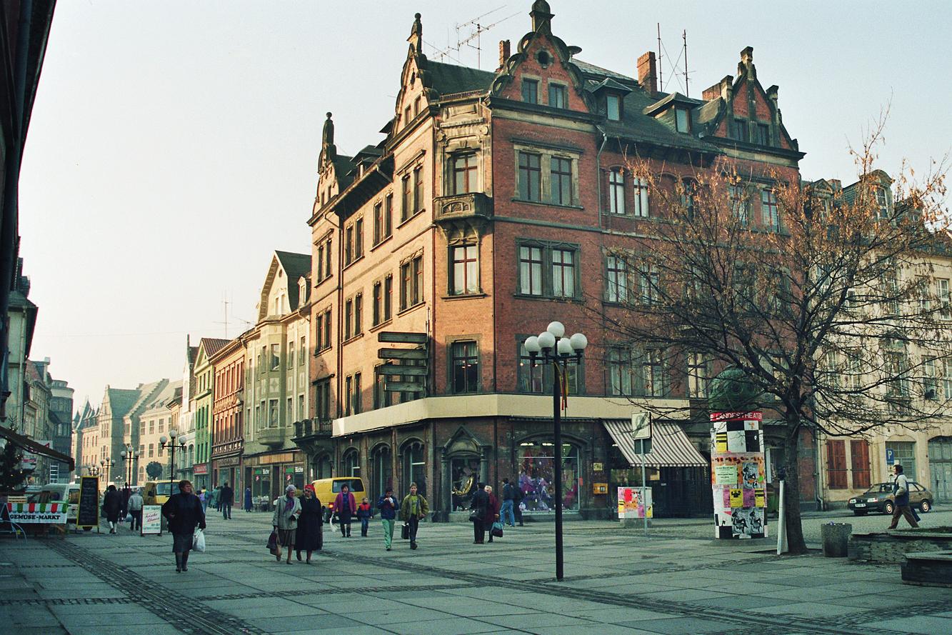 rudolstadt wohn gesch ftshaus markt 1 architekturb ro dieter zapfe. Black Bedroom Furniture Sets. Home Design Ideas